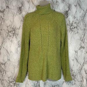 Sundance Green Toasty Dimensions Sweater I